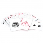 Multi Function Magic Paper Playing Cards Poker Set Red (54 Piece Set) (Magic Supplies Category)