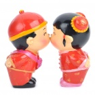 Chinese Magnetic Kissing Couple Dolls (Pair) (Anime Figurines Category)
