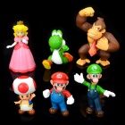 Super Mario PVC Figure Display Toys (6 Piece Pack) (Anime Figurines Category)