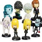 Anime Character Figures (8 Piece Set) (Anime Figurines Category)