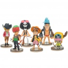 One Piece Resin Figures Set (6 Figure Set) (Anime Figurines Category)
