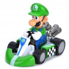 Mario Figure Pull Back Car Luigi (Anime Figurines Category)