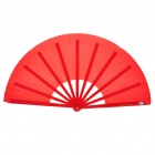 Kung Fu Performance Folding Fan Red (Martial Arts Supplies Category)