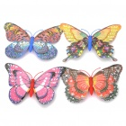 Decorative Magnetic Butterfly Fridge Sticker Random / Colour (4 Piece Pack) (Rare Earth Magnets Category)