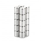 UQ550 DIY 5 x 5 millimetres Cylindrical NdFeB Magnet -- Silver (20 Pieces) (Rare Earth Magnets Category)
