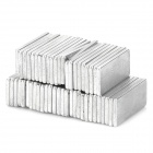 UP140 N33 Rectangular NdFeB Magnets -- Silver (50 Pieces) (Rare Earth Magnets Category)