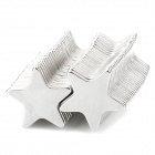 KM925 Star Shaped N33 NdFeB Powerful Magnets -- Silver (50 Pieces) (Rare Earth Magnets Category)