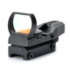 1X 33 millimeters 4 Mode Red Dot Sight Rifle Scope (1 x CR2032) (Mounts & Accessories Category)