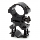25 millimeters Gun Mount Holder Clip Clamp for Torch Black (Mounts & Accessories Category)