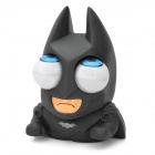 JC949 Funny Rolling Eyeballs Pop-out Plastic Stress Reliever Toy Batman -- Grey Plus White (Hard to Find Gadgets Category)