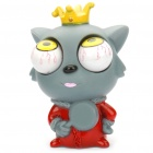 Eyeballs Pop out Wolf Silicone Stress Reliever Toy (Hard to Find Gadgets Category)