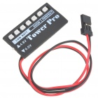 Universal Power Level LED Indicator for JR / FUTABA Helicopters (4.8V / 6.0V) (Remote Control Aeroplanes Category)
