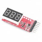 Li Po Battery Voltage 3 Digit Indicator (Remote Control Aeroplanes Category)