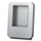 Universal Aluminium Alloy Gift Case with Window Silver (11 x 8.5 x 2cm) (Gifts Category)