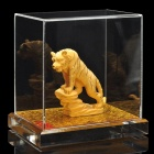 Decorative Chinese Zodiac Golden Statue Figurine Tiger (Gifts Category)