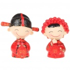 Valentine's Day Gift Resin Chinese Wedding Couple (Gifts Category)