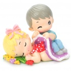 Valentine's Day Gift Resin Lovers Desk Doll Ornaments (Gifts Category)