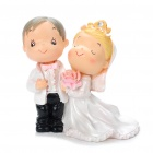 Western Resin Wedding Couple Display Dolls (Gifts Category)