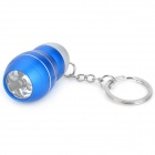 VI917 Aluminium Alloy 3-LED White Light Torch Keychain -- Blue (3 x AG10) (LED Keychains Category)