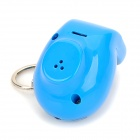 OE916 Toilet Ghost LED Blue Light Sound Keychain -- Blue (2 x AG13) (LED Keychains Category)