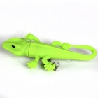 QT579 Lizard LED White Light Keychain with Sound Effect -- Green (3 x AG10) (LED Keychains Category)