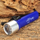 CR841 3w 100LM White Light 1-LED Diving Torch -- Blue Plus Silver (4 x AA) (Torches - SSC Category)