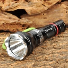 Li-ttle Giant-GD VV336 CREE XR-E Q5 150lm 5-Mode White Diving Torch -- Black Plus Silver (1 x 18650) (Torches - SSC Category)