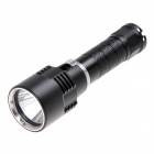 WW706 KX-0082 Cree XM-L2 T6 600lm Dimming White Diving Torch -- Black (1 x 18650) (Torches - SSC Category)