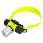 RA-YSOON-GD MQ880 CREE XM-L T6 450lm 3-Mode White Diving Headlamp -- Yellow Plus Silver Plus Black (1 x 18650) (Torches - SSC Category)