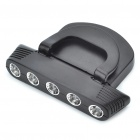 ZM124 3W 2-Mode 5-LED White Light Cap / Hat Lamp (2 x CR2032) (Headlamps Category)