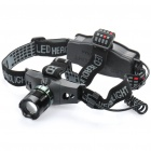 ZT 652 Cree Q3 WC 230 Lumen 3 Mode White Light Focus Adjustable Headlamp (1 x 18650 / 3 x AAA) (Headlamps Category)