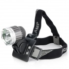 Be-amTeeh-GD Cree XM-LRL411 Plus XP-E R5 LED White Headlamp with Bicycle Tail Lamp (Headlamps Category)