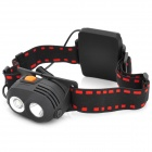 BE549 NEW-577 CREE XP-E R2 2-Mode 270LM White LED Headlamp -- Black (3 x AA) (Headlamps Category)