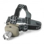 SR560 LED 80lm 3-Mode Zooming Torch -- Earthy Plus Silver (3 x AAA) (Headlamps Category)