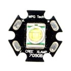 Cree XR E P4 LED Emitter on Star (Black) (Torch Parts & Tools Category)