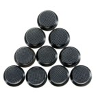 Silicone Tail caps for Torches (14mm Black / 10 Pack) (Torch Parts & Tools Category)