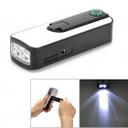 PO-SEFLY-GD EG192 Hand-Crank / USB Rechargeable 2-LED 18000MCD Torch with FM Radio / Compass (Torches - Dynamo Category)