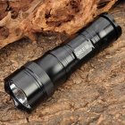 Aurora SH 3AA Cree XM L T6 800LM 5 Mode Memory White LED Torch with Strap Black (3xAA / 1x26650) (Torches - AA Cree Category)