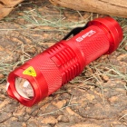 ST885 SI-PIK-GD Cree XR-E Q5 120LM LED White Light Zoom Torch with Clip -- Red (1 x AA) (Torches - AA Cree Category)