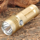 CN352 ROOK Cree XM-L T6 635lm 3-Mode White Light Torch -- Golden (3 x 14500 / AA) (Torches - AA Cree Category)
