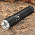CI941 Wolf-Eyes 00256 Cree XR-E Q5 210lm 3-Mode Memory White Zooming Torch -- Black (1 x AA) (Torches - AA Cree Category)