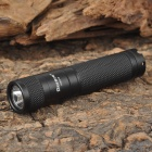 QK897 AURORA SHLD15 Cree XP-G R5 120lm 3-Mode White Light Torch -- Black (1 x AA) (Torches - AA Cree Category)