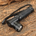 TJ984 Cr-ee-GD XR-E Q5 260lm 3-Mode Neutral White Light Torch -- Black (1 x AA / 14500) (Torches - AA Cree Category)
