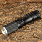 CY568 Cree XP-E Q5 50lm 3-Mode White Zooming Torch -- Black (1 x AA) (Torches - AA Cree Category)