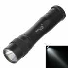 VT651 Small Sun ZY-577 80lm 6000K White Light Torch -- Black (1 x AA Battery ) (Torches - AA Cree Category)