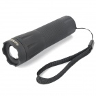 80LM 1W White Light Zoom LED Torch Black ( 3 x AAA) (Torches - LED Category)