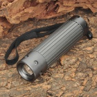 TN659 Cree XR-E Q5 250LM 3-Mode White Torch -- Silver Grey (3 x AAA) (Torches - LED Category)