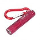 Ul-traFire-GD RK304 Cree XP-E R5 150LM 1-Mode White Torch -- Dark Red (1 x AAA) (Torches - LED Category)
