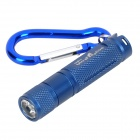 Ul-traFire-GD YG688 Cree XP-G R5 150LM 1-Mode White Torch -- Blue (1 x AAA) (Torches - LED Category)