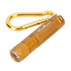 Ultra Fire E05 Cree XP G R5 150LM 1 Mode White Torch Golden (1 x AAA) (Torches - LED Category)
